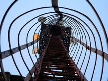 Primo piano della torretta Fotografia Stock Libera da Diritti