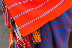 Primo piano della tribù masai Fotografie Stock Libere da Diritti