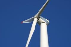 Primo piano della turbina di vento Fotografie Stock Libere da Diritti