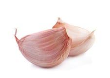 Primo piano della verdura dell'aglio fotografia stock libera da diritti
