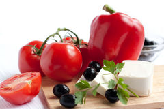 Primo piano della verdura fresca Immagini Stock Libere da Diritti