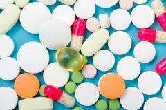 Primo piano delle droghe Fotografia Stock Libera da Diritti