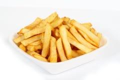 Primo piano delle patate fritte Fotografia Stock Libera da Diritti