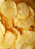 Primo piano delle patatine fritte fotografia stock libera da diritti