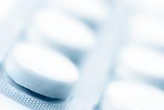 Primo piano delle pillole Immagine Stock