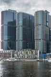 Primo piano delle torri dell'ufficio di HSBC, Sydney Australia Immagine Stock Libera da Diritti