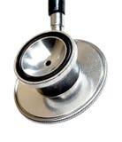 Primo piano dello stetoscopio. fotografie stock