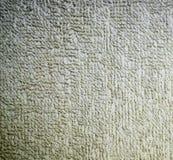 Primo piano dettagliato di struttura del tessuto spugna del tessuto fondo, natura morta immagine stock