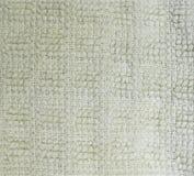Primo piano dettagliato di struttura del tessuto spugna del tessuto fondo, natura morta fotografia stock