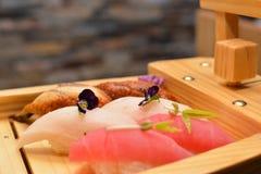 Primo piano di arte dei sushi Fotografie Stock