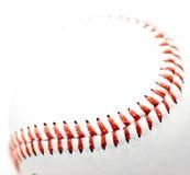 Primo piano di baseball Fotografie Stock