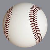 Primo piano di baseball Fotografia Stock