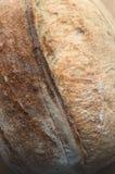 Primo piano di bello pane integrale del lievito naturale Fotografia Stock