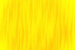 Primo piano di bello tessuto giallo luminoso Fotografie Stock