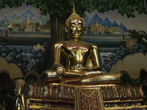 Primo piano di Buddha di rai-khing Fotografie Stock