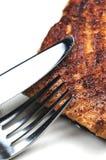 Primo piano di color salmone Fotografia Stock Libera da Diritti