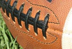 Primo piano di gioco del calcio Fotografia Stock Libera da Diritti
