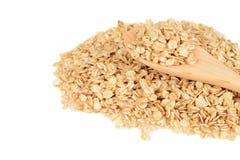 Granola con il cucchiaio di legno Immagini Stock