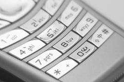 Primo piano di Handphone Immagine Stock