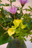 Primo piano di Ikebana Fotografie Stock Libere da Diritti