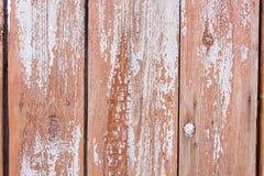 Primo piano di legno del recinto di struttura del fondo Copi il testo dello spazio Immagini Stock