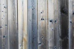 Primo piano di legno della parete Fotografie Stock