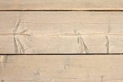 Primo piano di legno delle plance Fotografie Stock Libere da Diritti