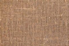 Primo piano di licenziamento naturale della tela di iuta della tela da imballaggio Immagini Stock Libere da Diritti