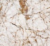 Primo piano di marmo bianco Fotografia Stock
