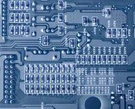 Primo piano di micro circuito Fotografie Stock Libere da Diritti