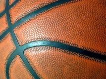 Primo piano di pallacanestro Fotografie Stock Libere da Diritti