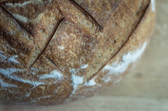 Primo piano di pane all'aglio Immagine Stock Libera da Diritti