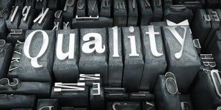 Primo piano di qualità Immagini Stock Libere da Diritti