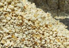 Primo piano di riserva del popcorn Fotografie Stock Libere da Diritti