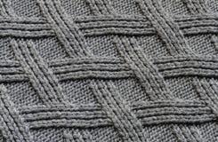 Primo piano di struttura del maglione Immagini Stock