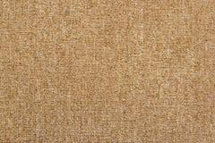 Primo piano di struttura del tappeto di Brown per l'utente del fondo Fotografie Stock Libere da Diritti