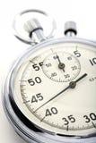 Primo piano di un cronometro Immagini Stock Libere da Diritti