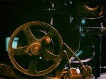 Primo piano di un meccanismo d'annata antico della macchina da scrivere Immagine Stock Libera da Diritti