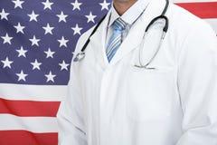 Primo piano di un medico immagine stock libera da diritti