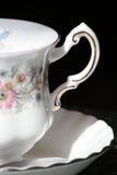 Primo piano di un tazza da the antico Fotografie Stock Libere da Diritti