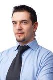 Primo piano di un uomo d'affari. Fotografia Stock Libera da Diritti
