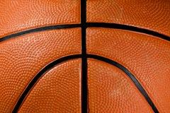 Primo piano di una pallacanestro Fotografia Stock