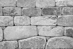 Primo piano di una parete di pietra Fotografie Stock Libere da Diritti