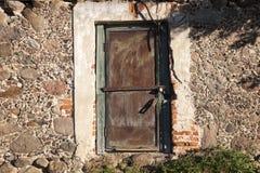 Primo piano di vecchia costruzione Fotografie Stock Libere da Diritti