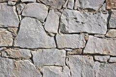 Primo piano di vecchia parete di pietra Immagini Stock Libere da Diritti