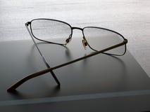 Primo piano di vetro Immagini Stock