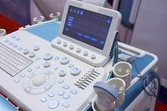 Primo piano diagnostico medico dell'attrezzatura fotografie stock libere da diritti