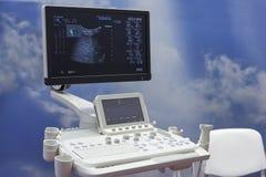Primo piano diagnostico medico dell'attrezzatura fotografie stock