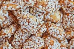 Primo piano dolce delle arachidi Fotografia Stock Libera da Diritti