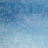 Primo piano ghiacciato del modello Fotografia Stock